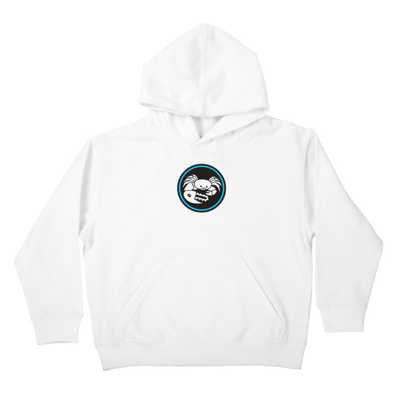 Crab Saw Logo Kids Pullover Hoody by Crab Saw Apparel
