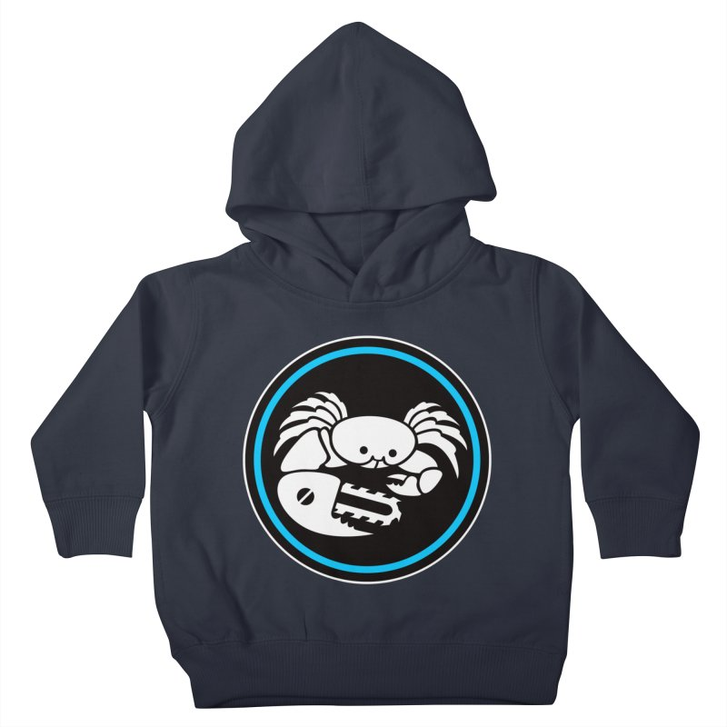 Crab Saw Logo Kids Toddler Pullover Hoody by Crab Saw Apparel