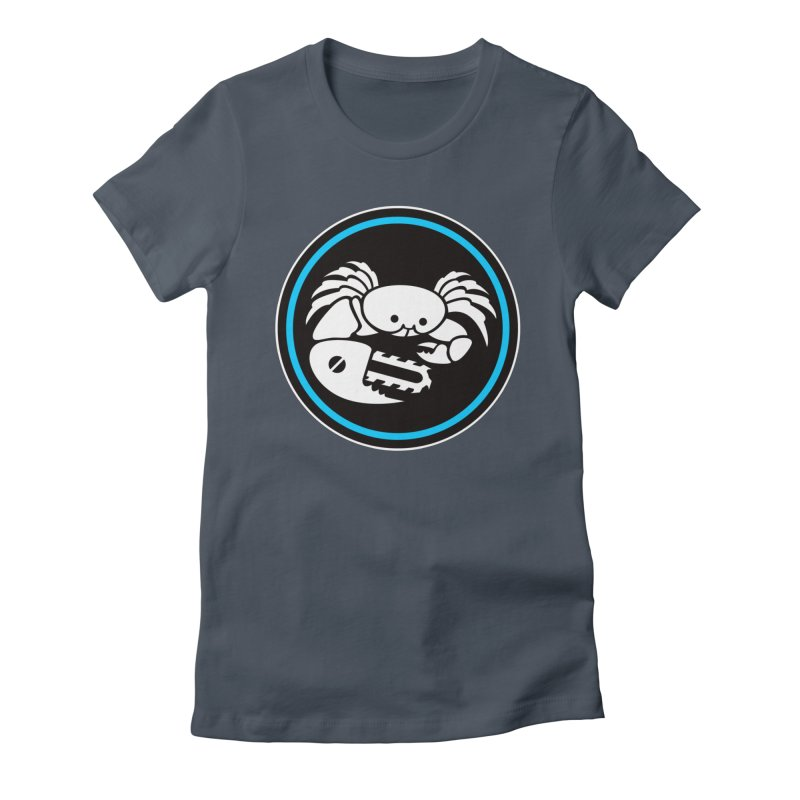 Crab Saw Logo Women's T-Shirt by Crab Saw Apparel