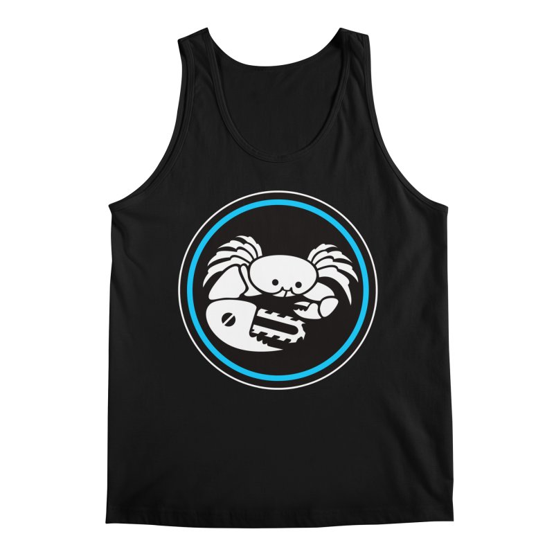 Crab Saw Logo Men's Regular Tank by Crab Saw Apparel