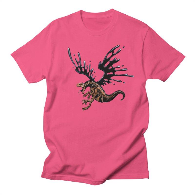 Allosaurus Tar & Feathered Women's Regular Unisex T-Shirt by Crab Saw Apparel