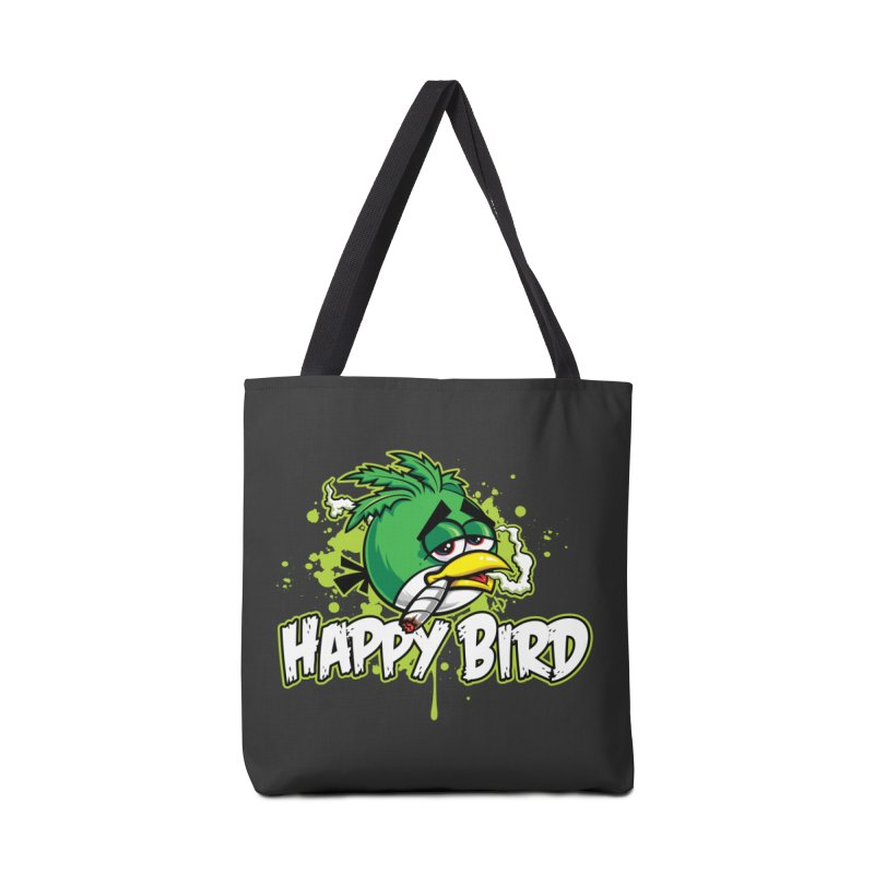 Happy Bird Accessories Bag by Toxic Onion