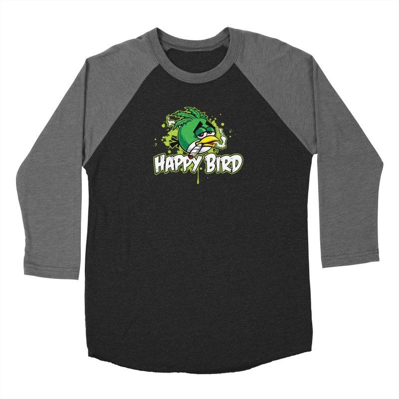 Happy Bird Women's Longsleeve T-Shirt by Toxic Onion