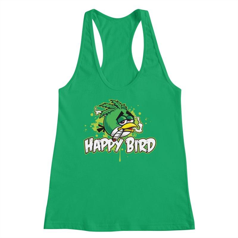 Happy Bird Women's Tank by Toxic Onion