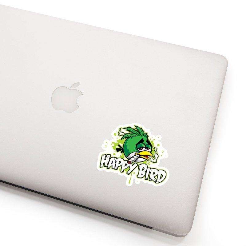 Happy Bird Accessories Sticker by Toxic Onion