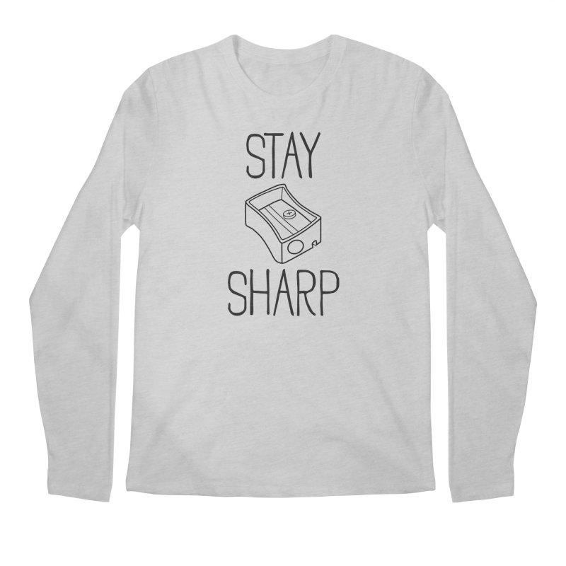Stay Sharp Men's Longsleeve T-Shirt by Toxic Onion - A Popular Ventures Company