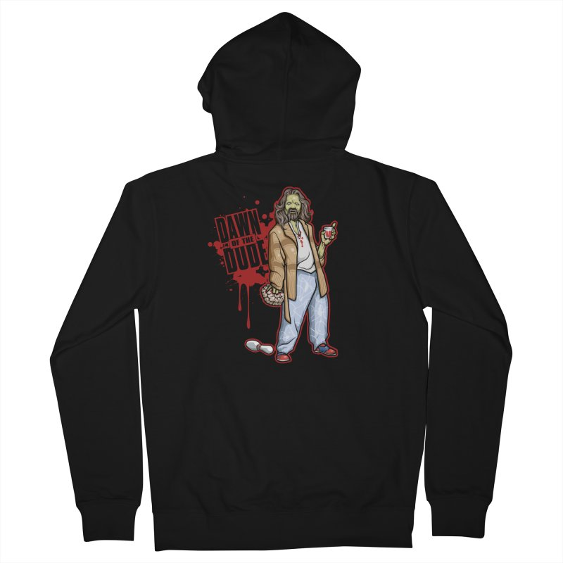 Dawn Of The Dude Men's French Terry Zip-Up Hoody by Toxic Onion