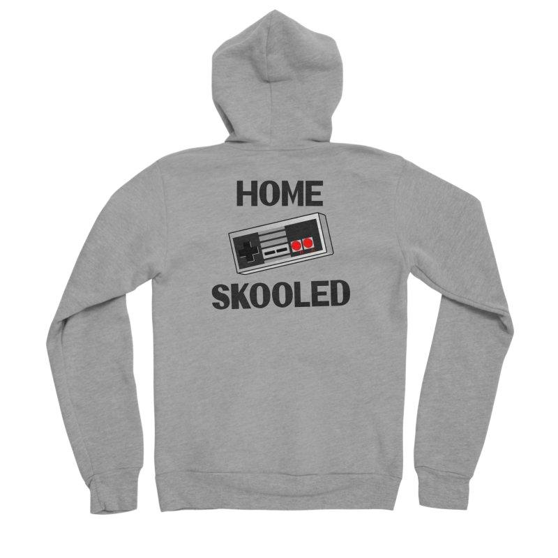 Home Skooled Men's Sponge Fleece Zip-Up Hoody by Toxic Onion