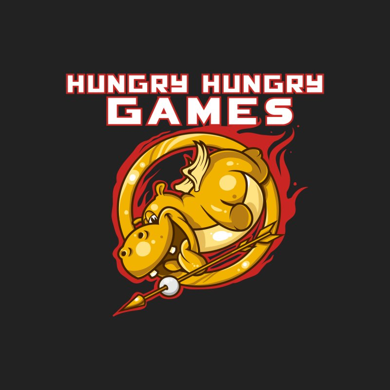 Hungry Hungry Games Men's T-Shirt by Toxic Onion