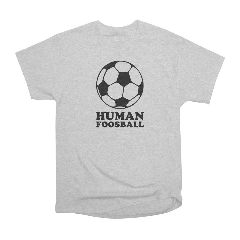 Human Foosball Men's T-Shirt by Toxic Onion - A Popular Ventures Company
