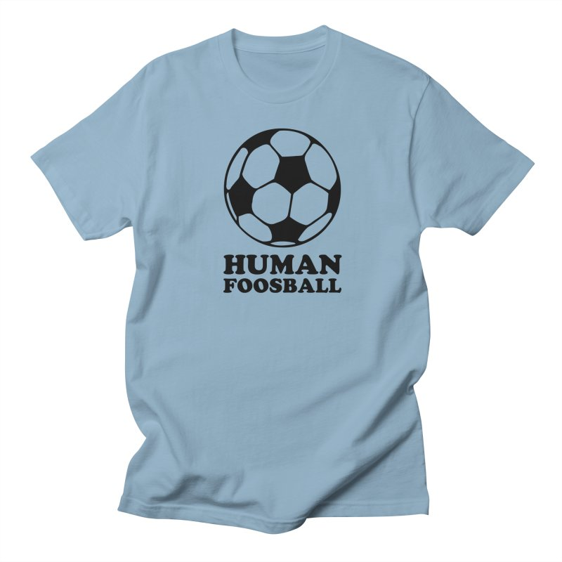 Human Foosball Men's T-Shirt by Toxic Onion - A Popular Ventures Company