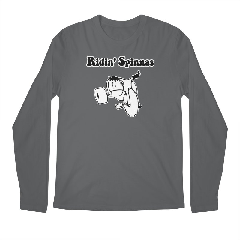 Ridin' Spinnas Men's Longsleeve T-Shirt by Toxic Onion - A Popular Ventures Company