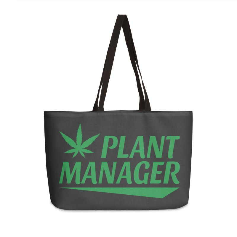 Plant Manager Accessories Weekender Bag Bag by Toxic Onion