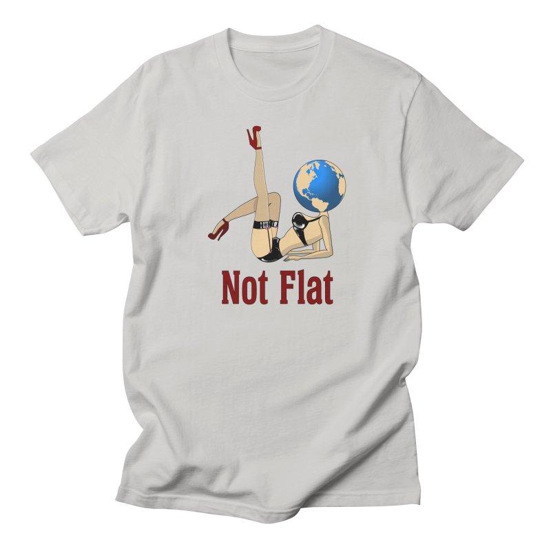 Not Flat Men's T-Shirt by Toxic Onion