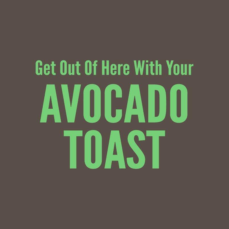 Avocado Toast Men's T-Shirt by Toxic Onion