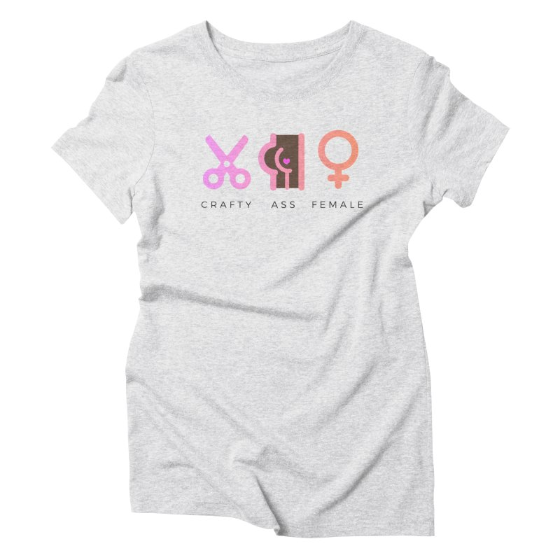 Cocoa Women's Triblend T-Shirt by Crafty Ass Female's Merch Shop