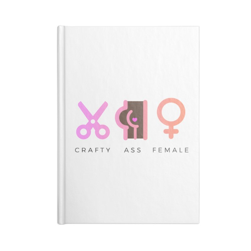 Cocoa Accessories Notebook by Crafty Ass Female's Merch Shop
