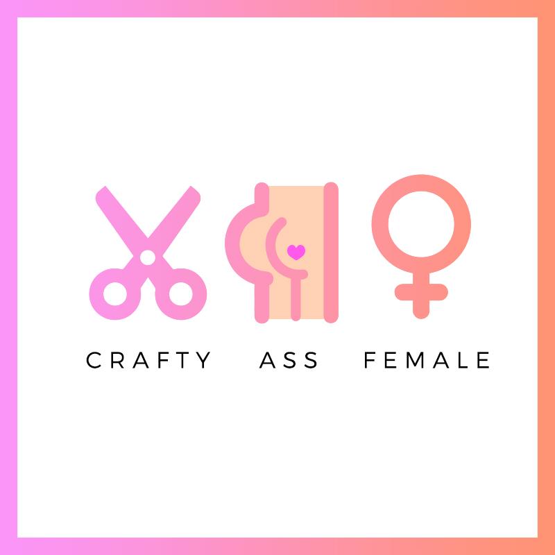 Crafty Ass Female's Merch Shop Logo
