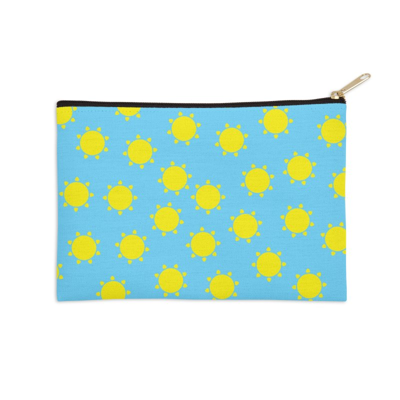Just in case the beach isn't sunny enough... in Zip Pouch by Crafty in Katy
