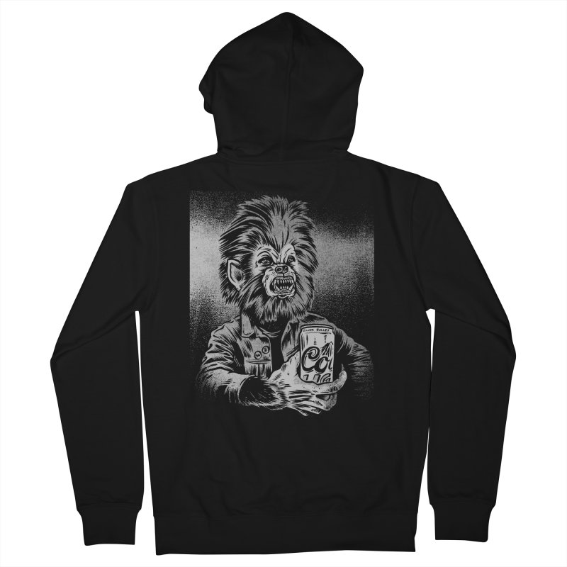 Silver Bullet Men's Zip-Up Hoody by craighorky's Shop