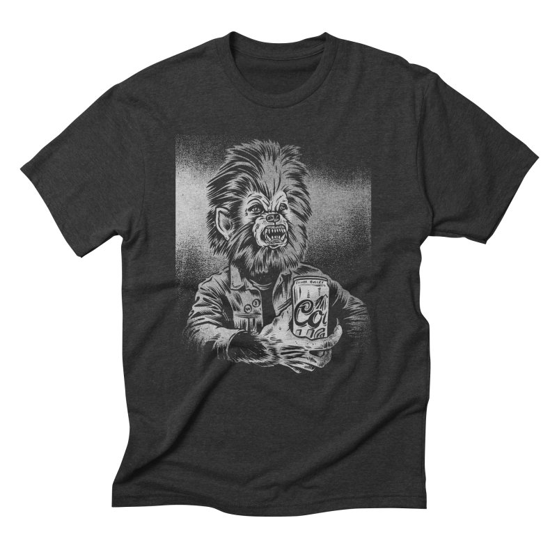 Silver Bullet Men's Triblend T-Shirt by craighorky's Shop