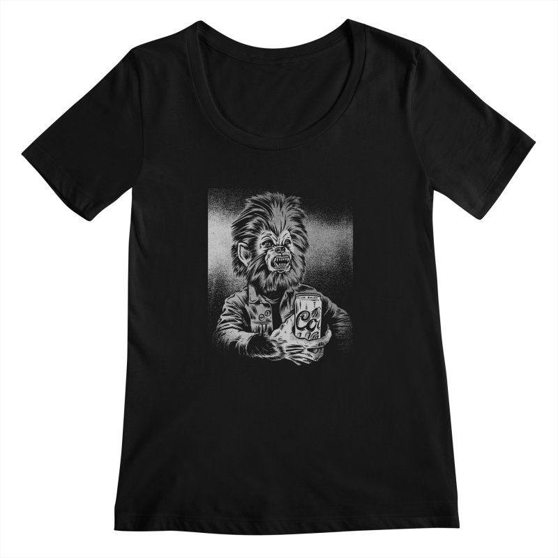 Silver Bullet Women's Scoopneck by craighorky's Shop