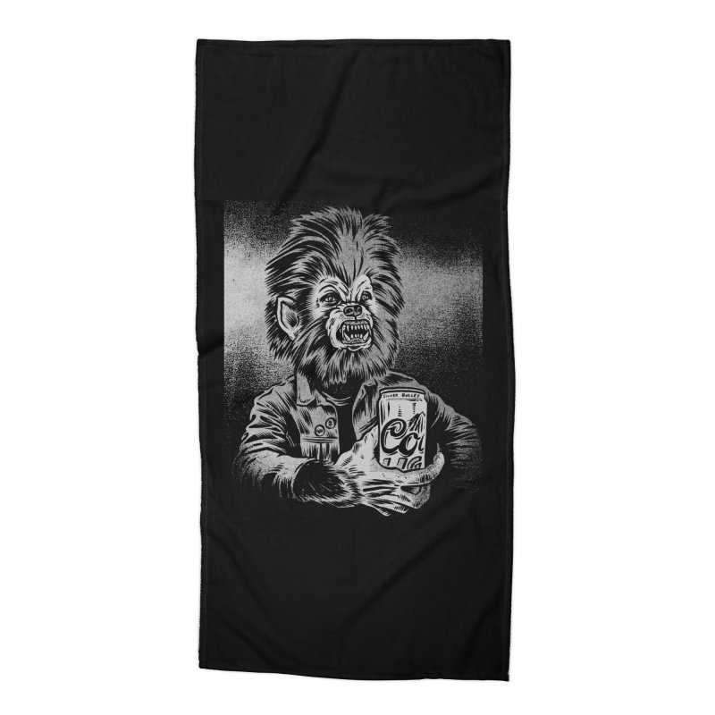 Silver Bullet Accessories Beach Towel by craighorky's Shop