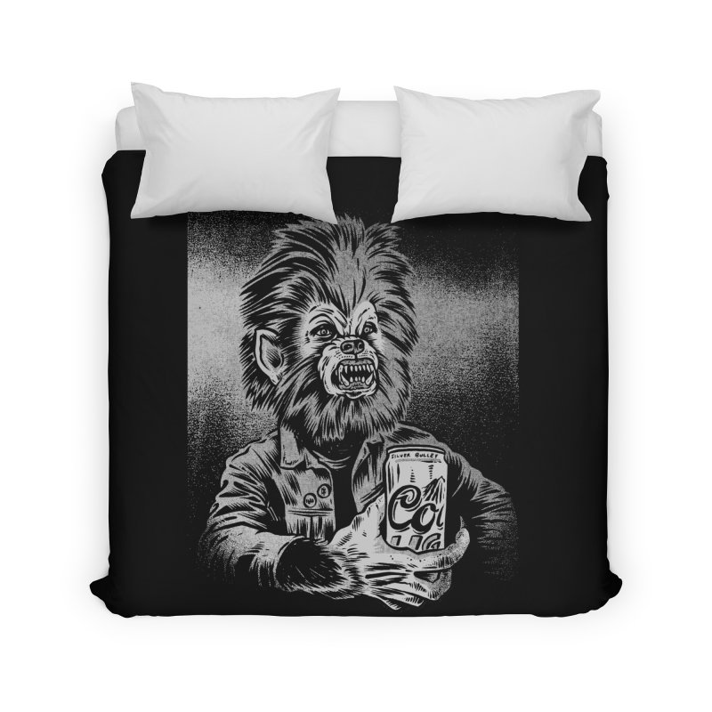 Silver Bullet Home Duvet by craighorky's Shop