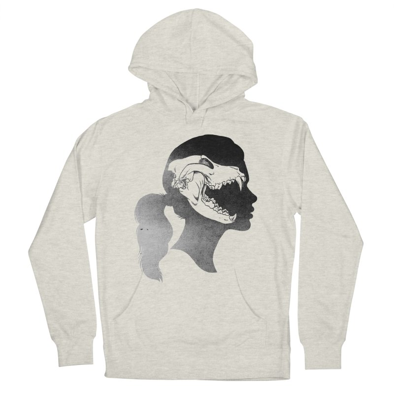 Wolf Girl Men's Pullover Hoody by craighorky's Shop