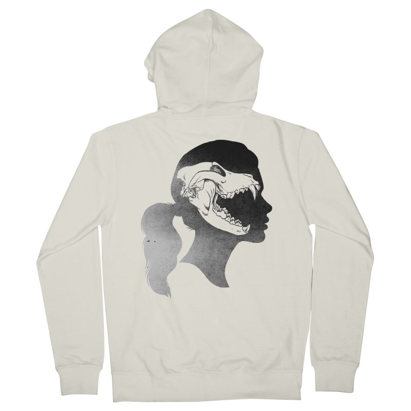 Wolf Girl Men's Zip-Up Hoody by craighorky's Shop