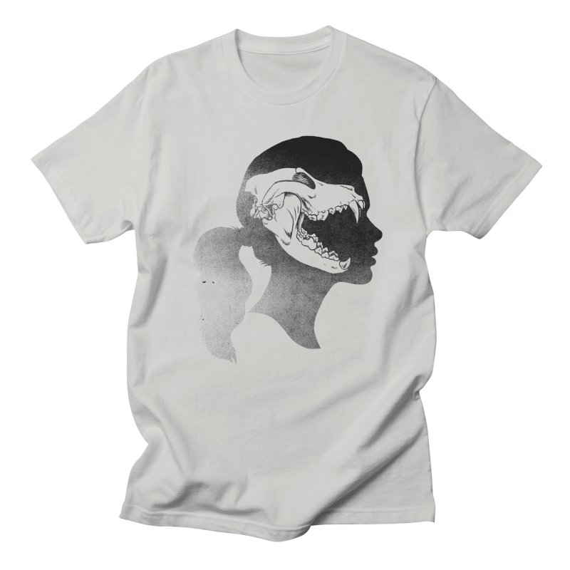 Wolf Girl Men's T-shirt by craighorky's Shop