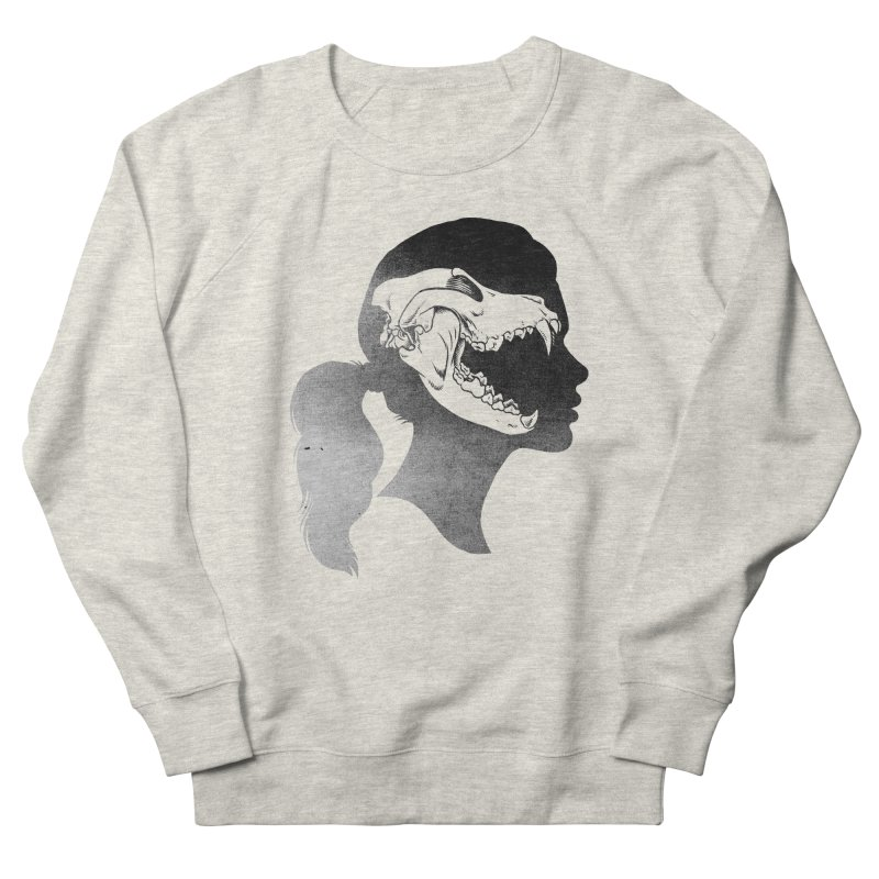 Wolf Girl Men's Sweatshirt by craighorky's Shop