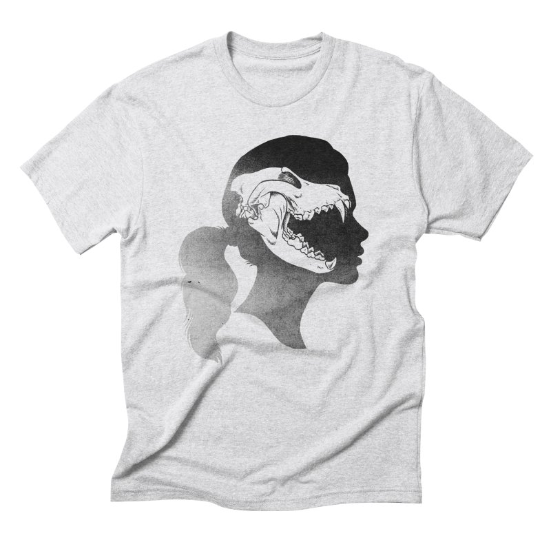 Wolf Girl Men's Triblend T-Shirt by craighorky's Shop