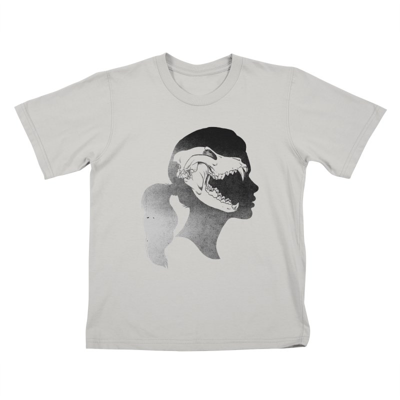 Wolf Girl Kids T-shirt by craighorky's Shop