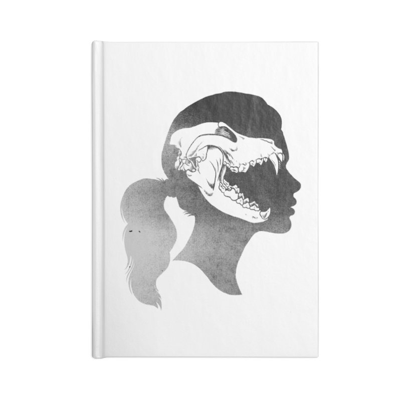 Wolf Girl Accessories Notebook by craighorky's Shop
