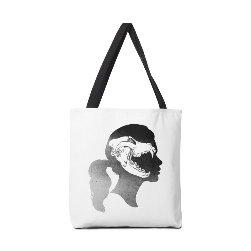 Wolf Girl Accessories Bag by craighorky's Shop