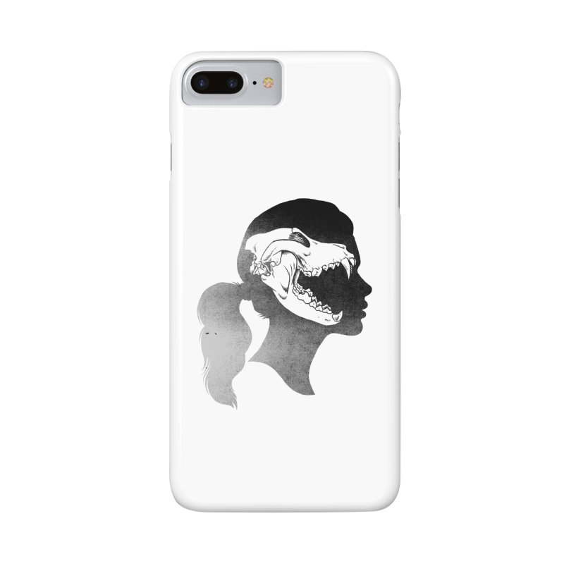 Wolf Girl Accessories Phone Case by craighorky's Shop