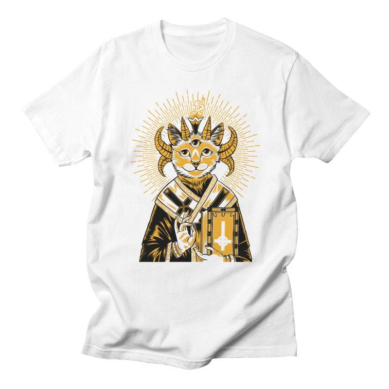 Baphomet Cat Saint Men's T-Shirt by craighorky's Shop