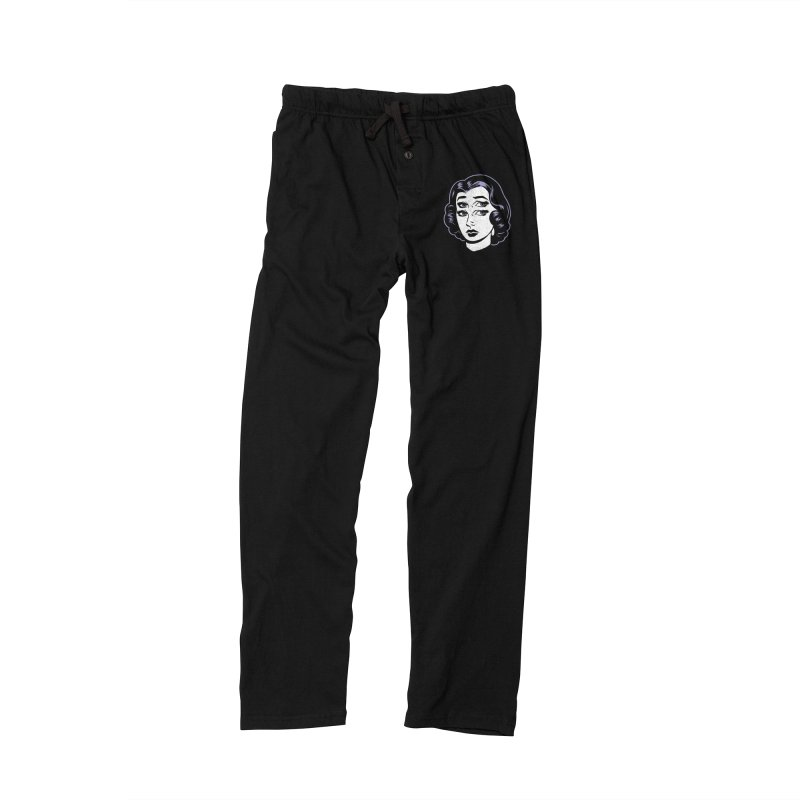 4 eyed girl Men's Lounge Pants by craighorky's Shop