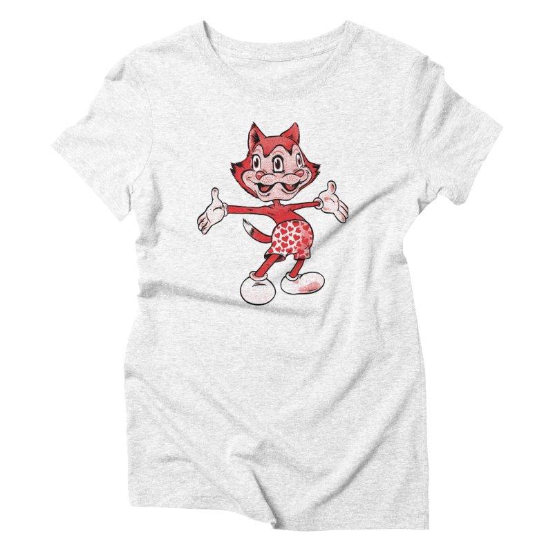 janus mascot Women's Triblend T-shirt by craighorky's Shop