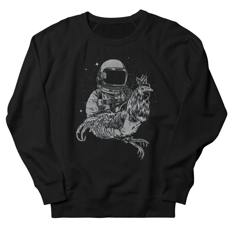 astro chicken Men's Sweatshirt by craighorky's Shop