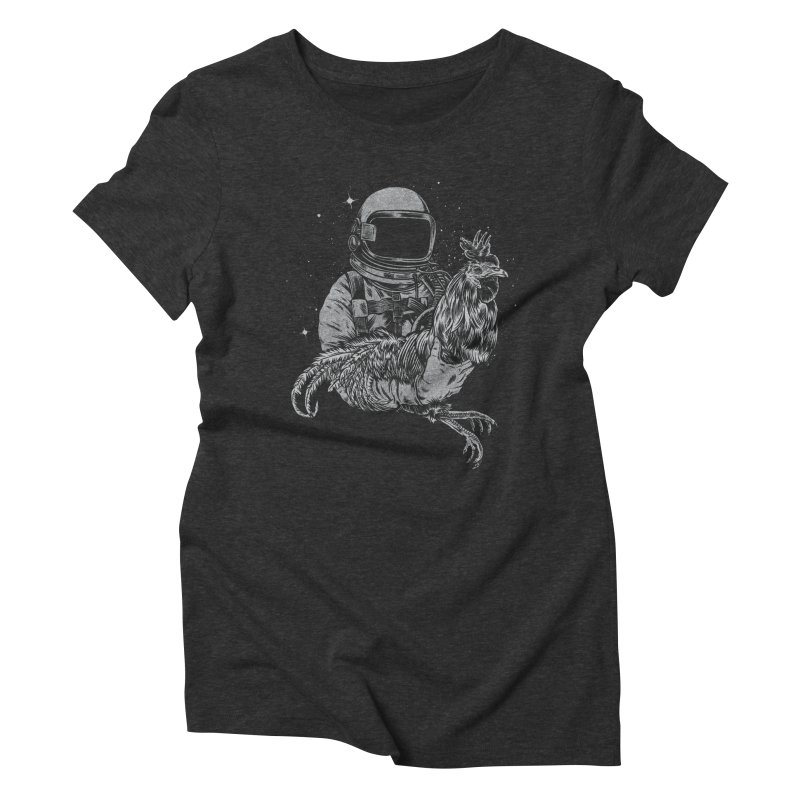 astro chicken Women's Triblend T-shirt by craighorky's Shop