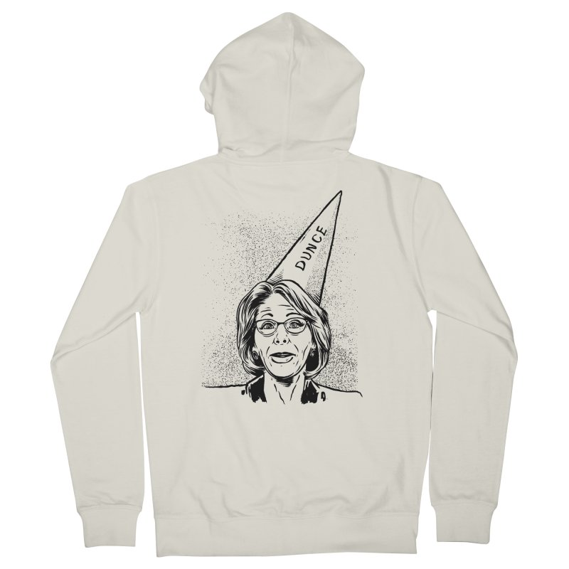 Bet$y DeVo$ Men's Zip-Up Hoody by craighorky's Shop