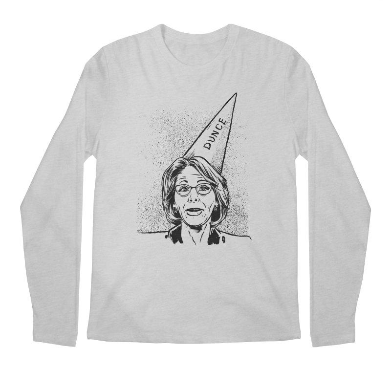 Bet$y DeVo$ Men's Longsleeve T-Shirt by craighorky's Shop