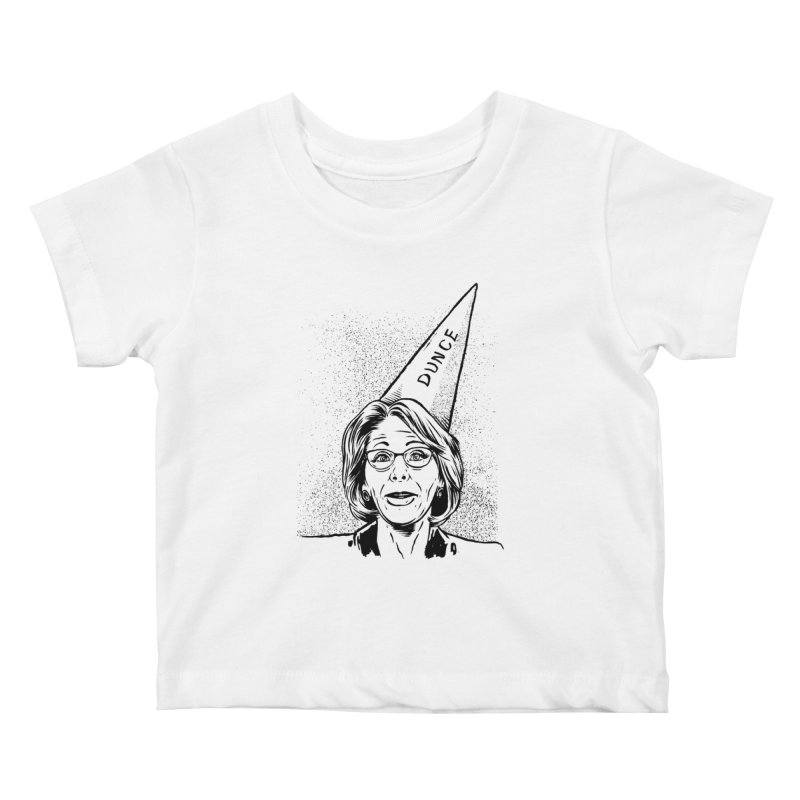 Bet$y DeVo$ Kids Baby T-Shirt by craighorky's Shop