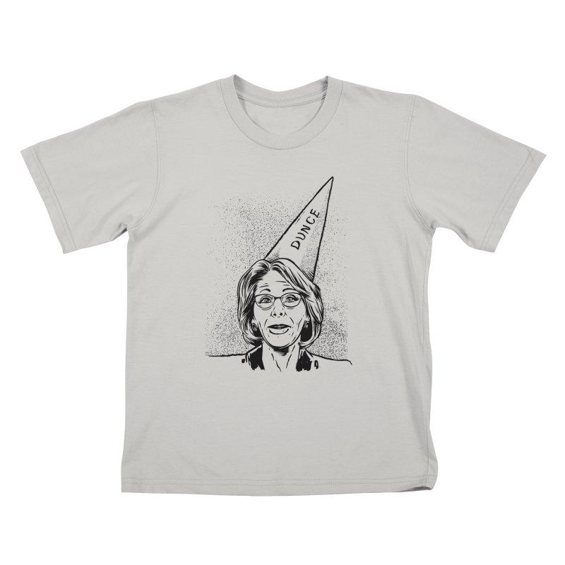 Bet$y DeVo$ Kids T-shirt by craighorky's Shop