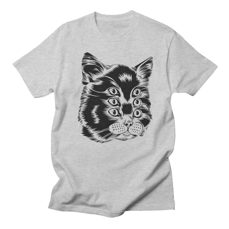 6 eyed cat Men's T-shirt by craighorky's Shop