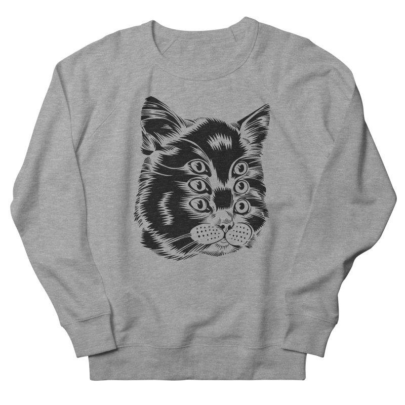 6 eyed cat Men's Sweatshirt by craighorky's Shop