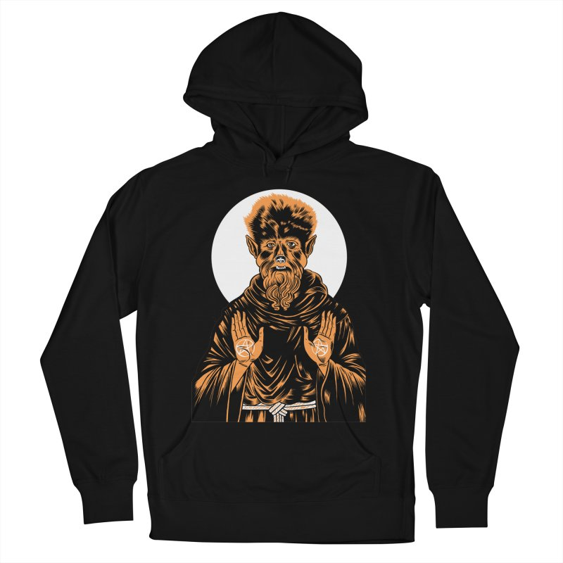 Saint Wolfman Women's Pullover Hoody by craighorky's Shop