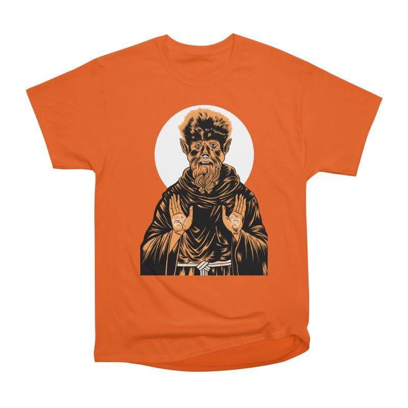 Saint Wolfman Men's Heavyweight T-Shirt by craighorky's Shop